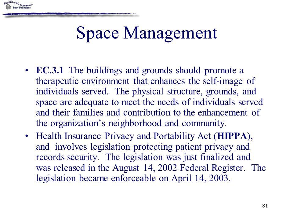 Space Management
