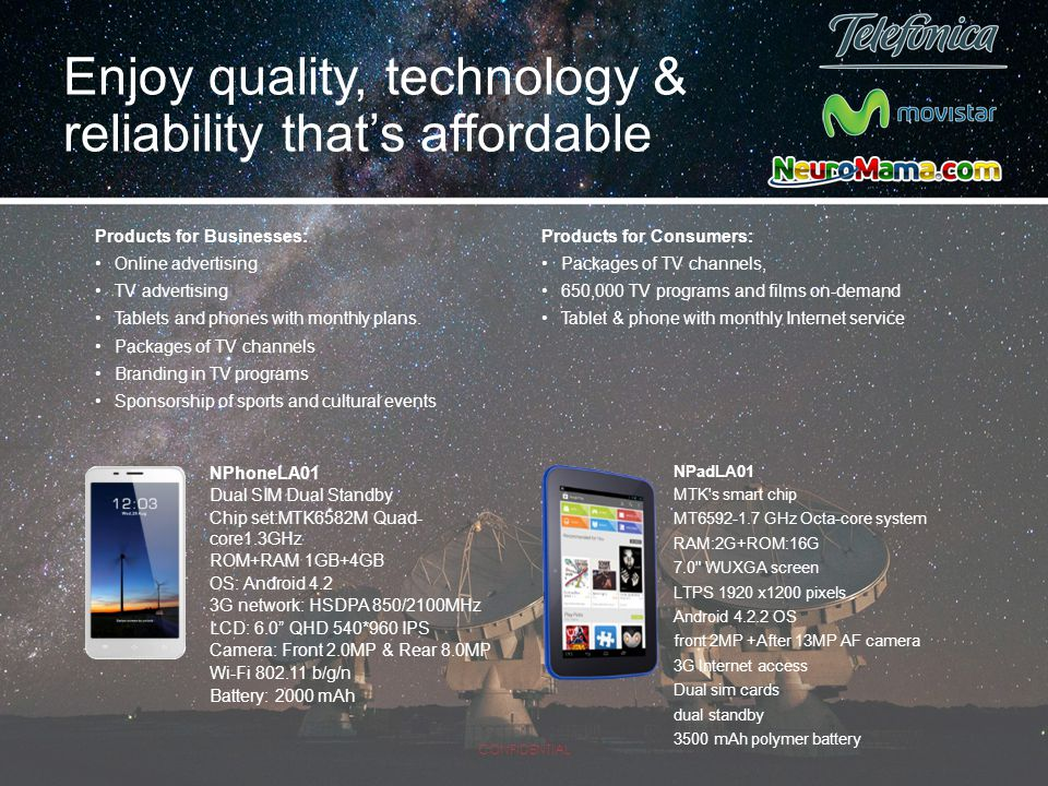 Enjoy quality, technology & reliability that's affordable