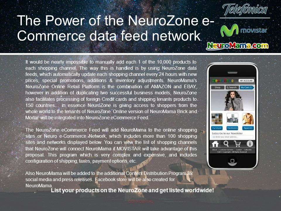 The Power of the NeuroZone e-Commerce data feed network