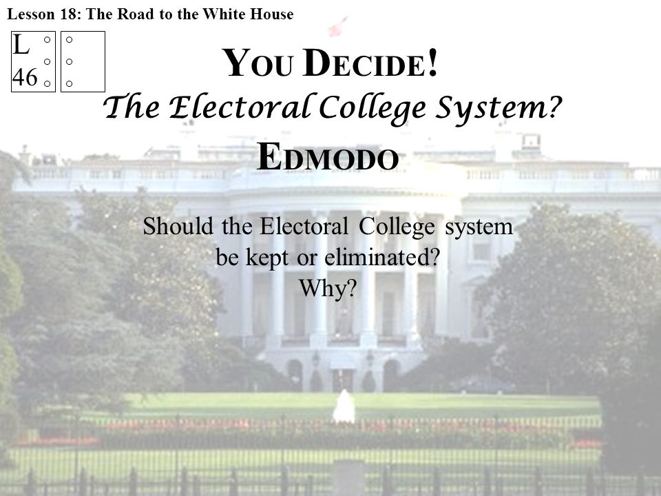 The Electoral College System