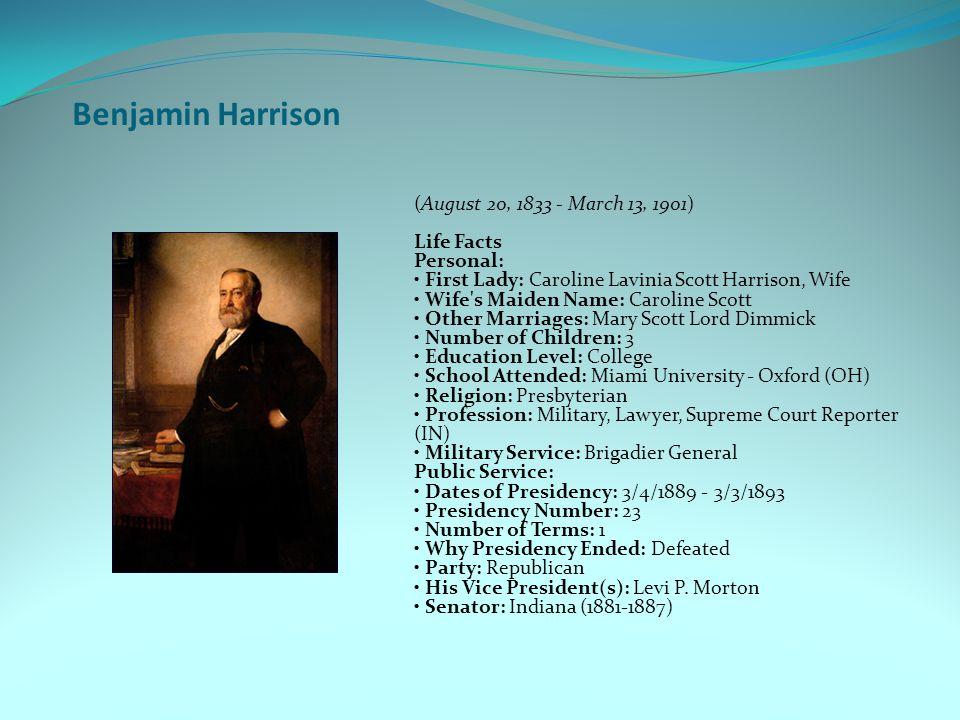 Benjamin Harrison