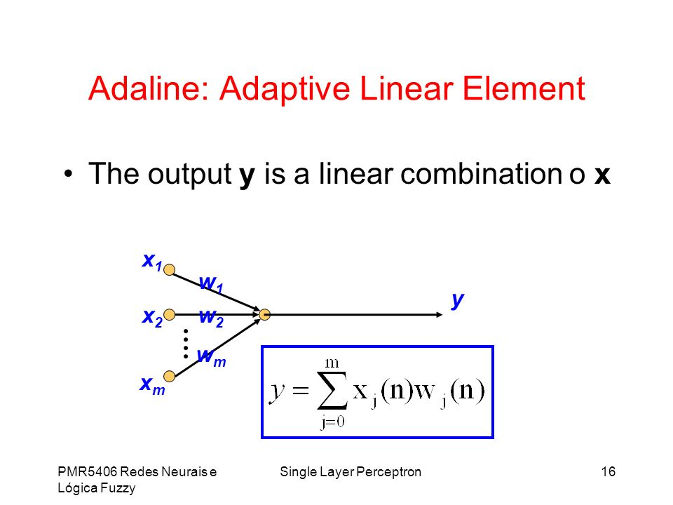 Adaline: Adaptive Linear Element