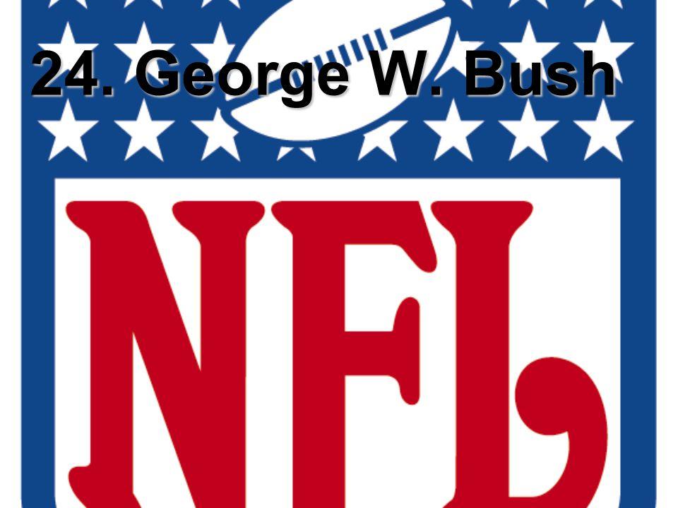 24. George W. Bush