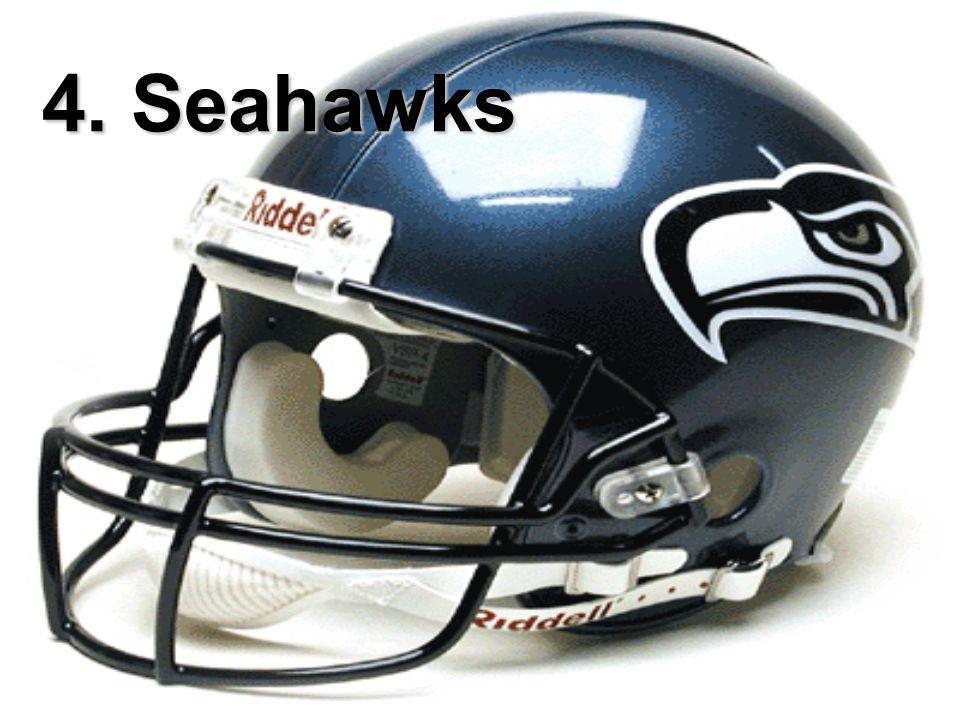 4. Seahawks