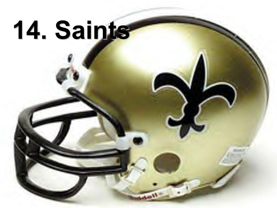 14. Saints