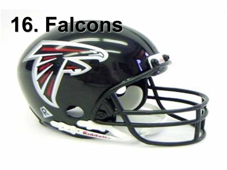 16. Falcons