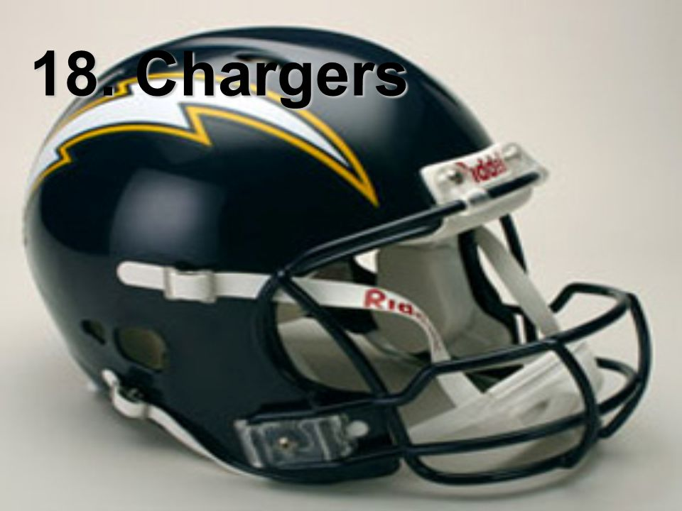 18. Chargers