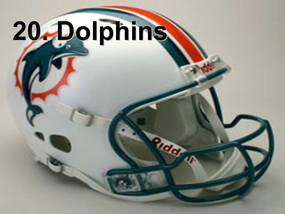 20. Dolphins