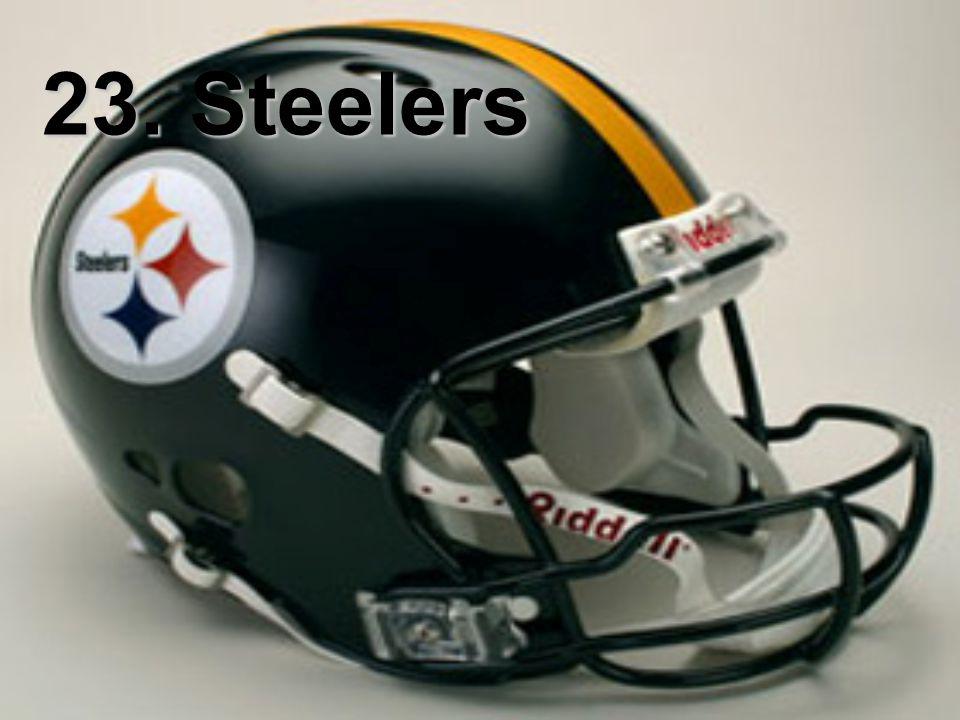 23. Steelers