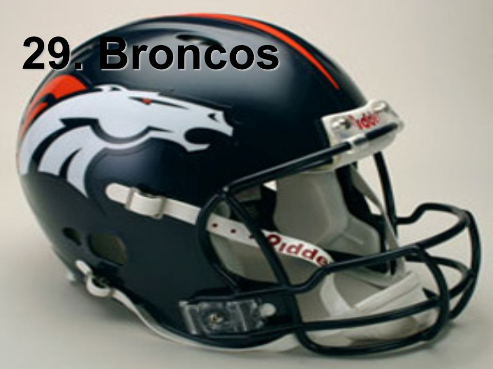 29. Broncos
