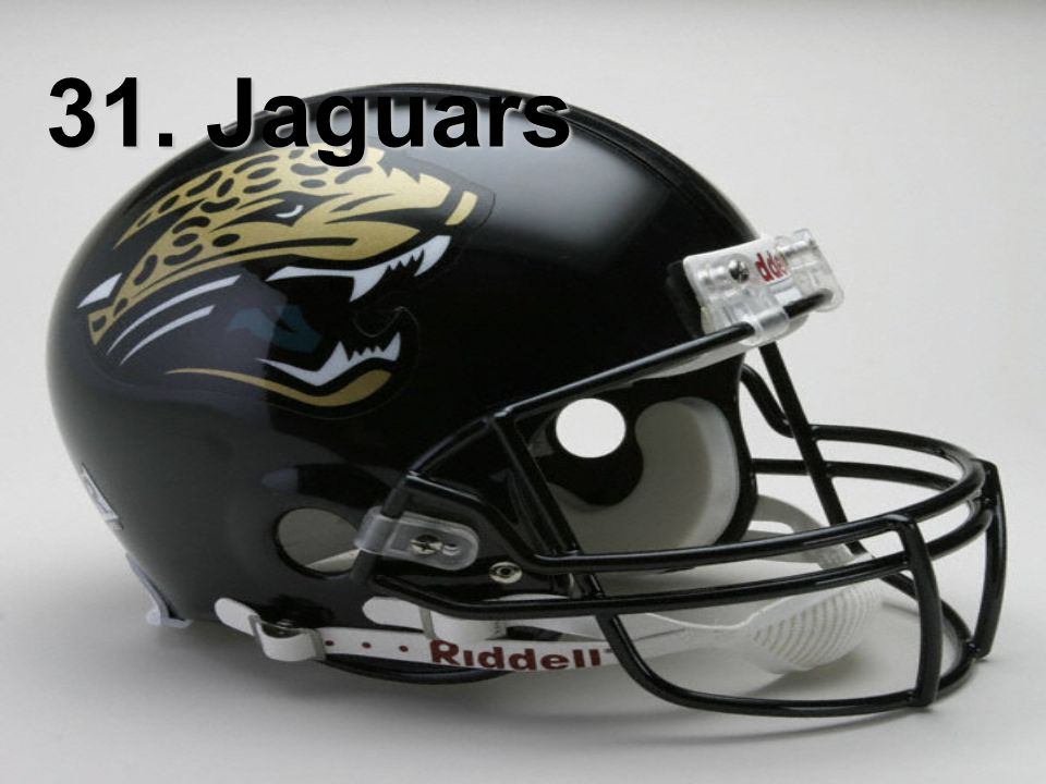 31. Jaguars