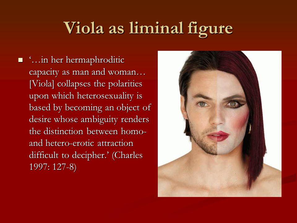 Viola as liminal figure