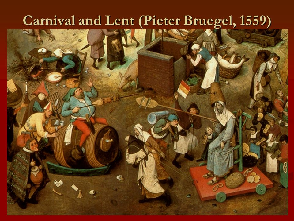 Carnival and Lent (Pieter Bruegel, 1559)
