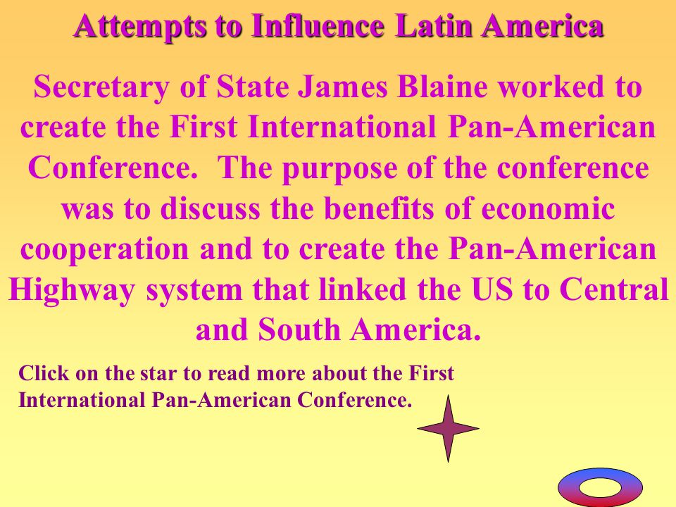 Attempts to Influence Latin America