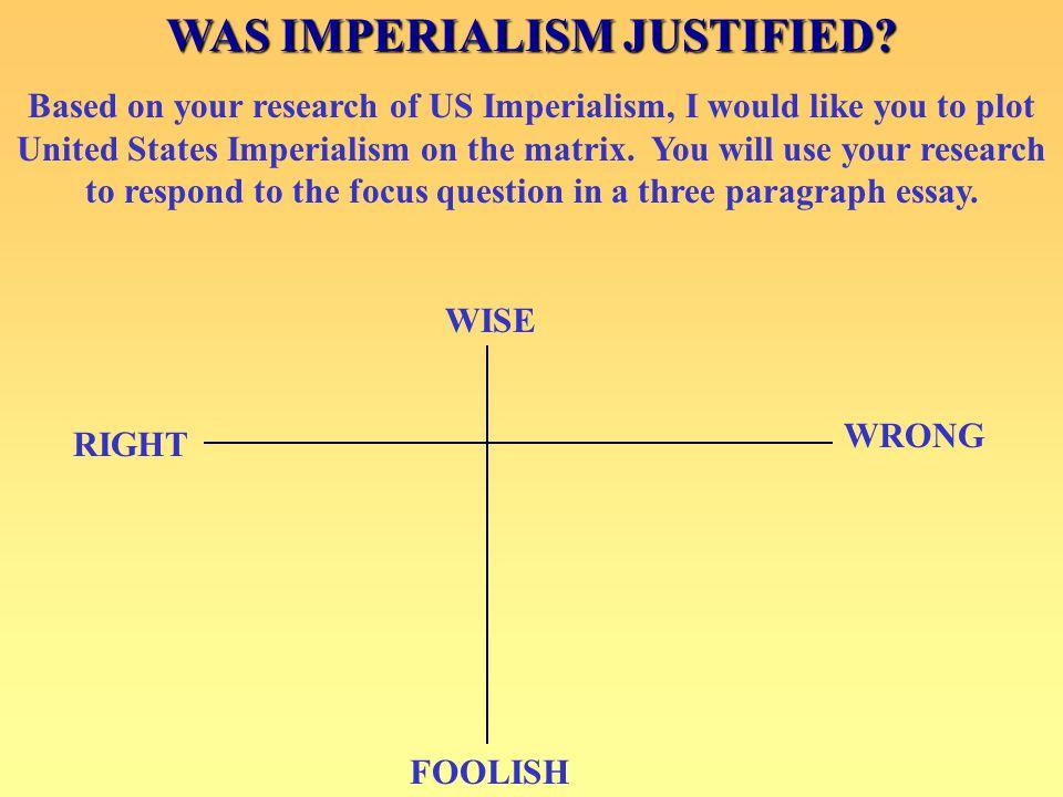 American Imperialism Essay