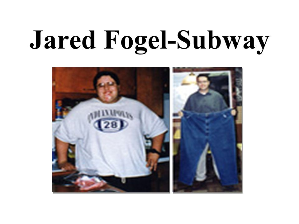 Jared Fogel-Subway