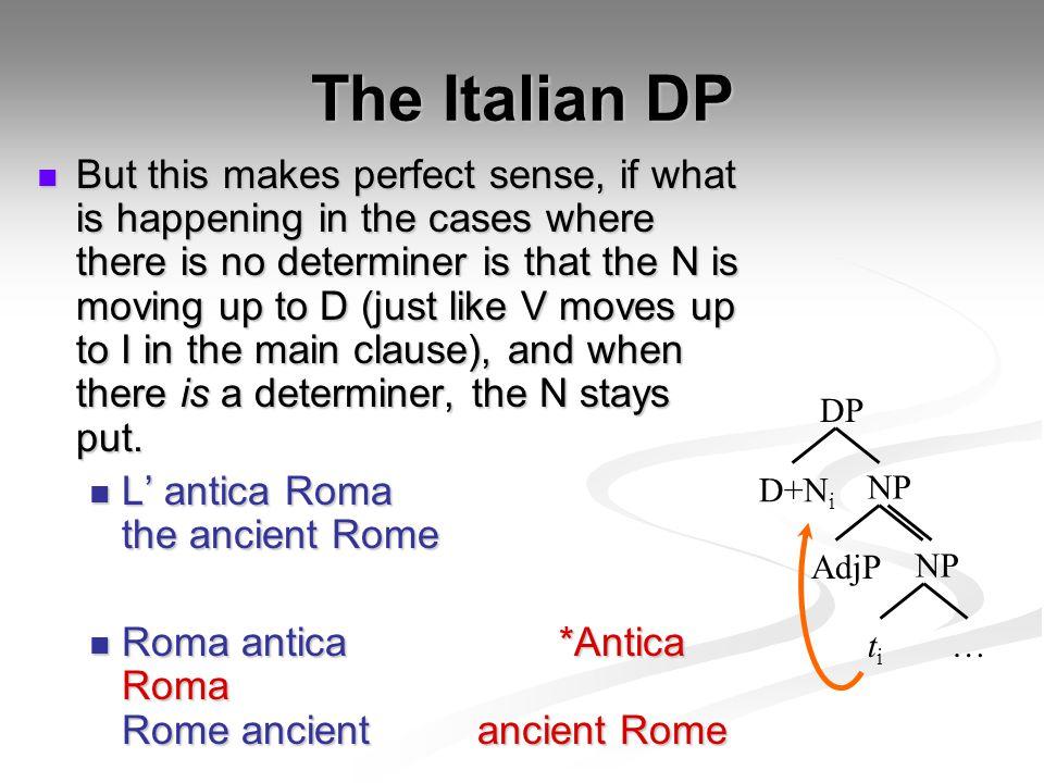 The Italian DP