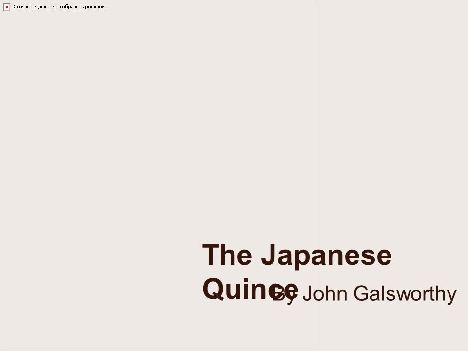 central points of symbolism in the japanese quince by john galsworthy 2202232 introduction to the study of fiction the japanese quince, john galsworthy symbolism an interesting.