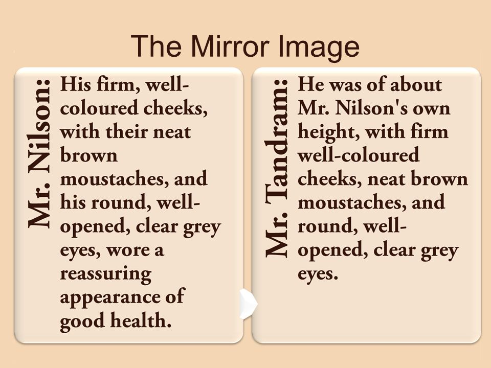 The Mirror Image