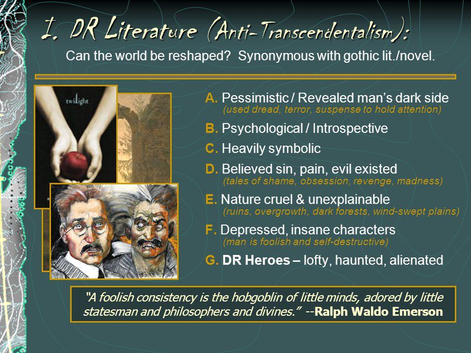 Where did the DR/Gothic movement originate