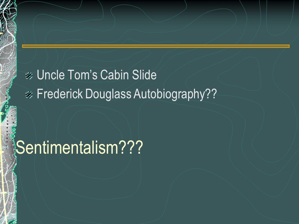 Sentimentalism Uncle Tom's Cabin Slide