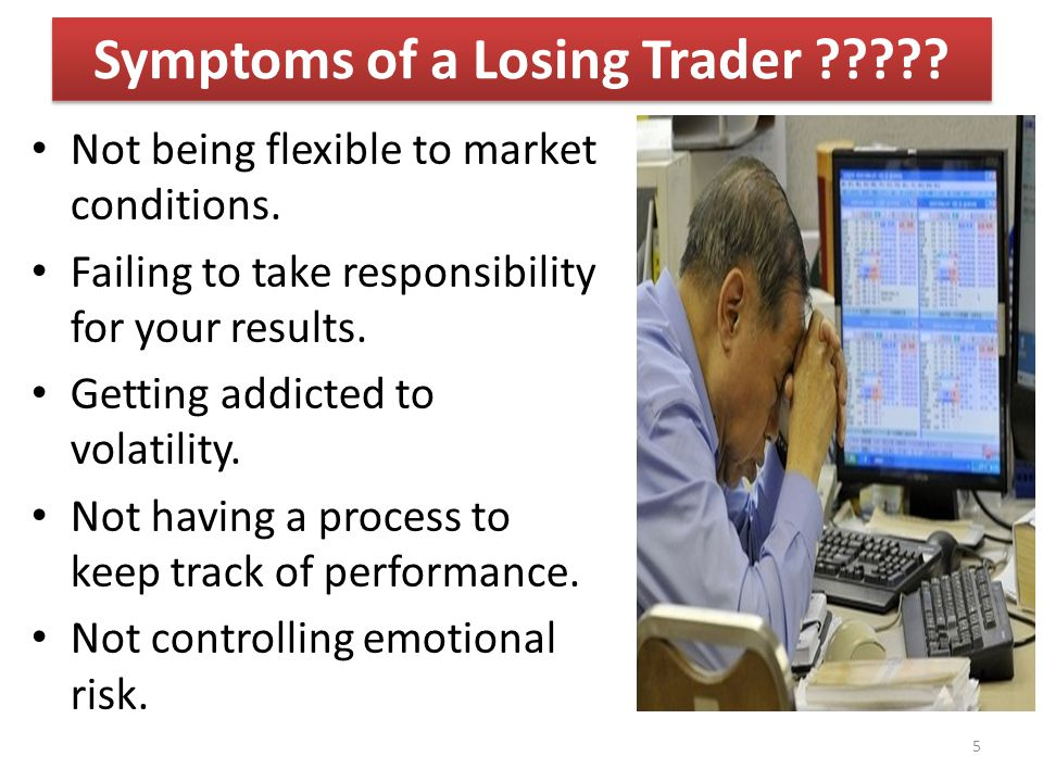 Symptoms of a Losing Trader