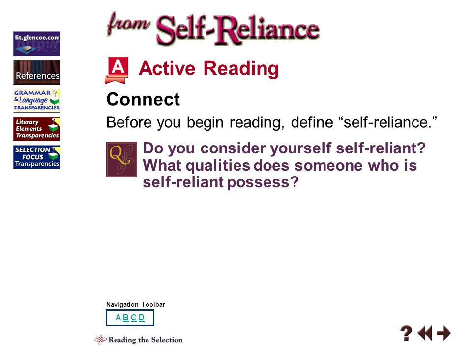 Active Reading A Connect