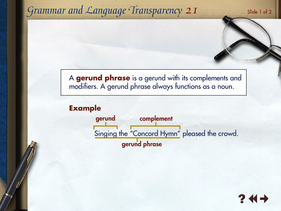 Grammar and Language Transparency 6-1