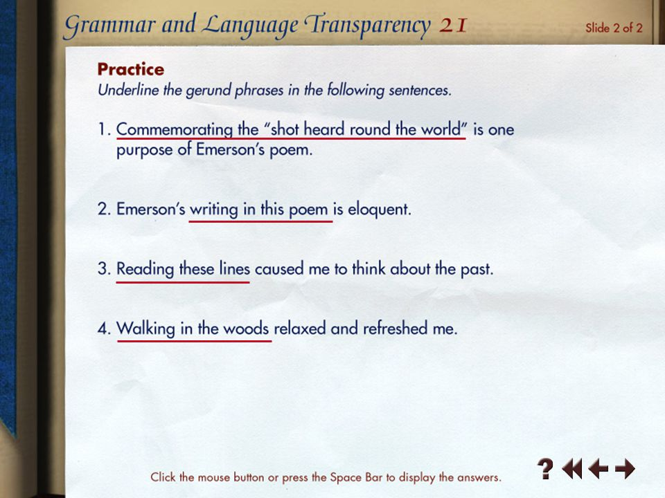 Grammar and Language Transparency 6-2