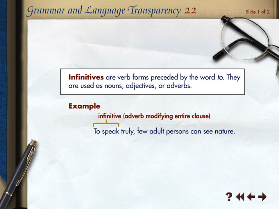 Grammar and Language Transparency 6-3