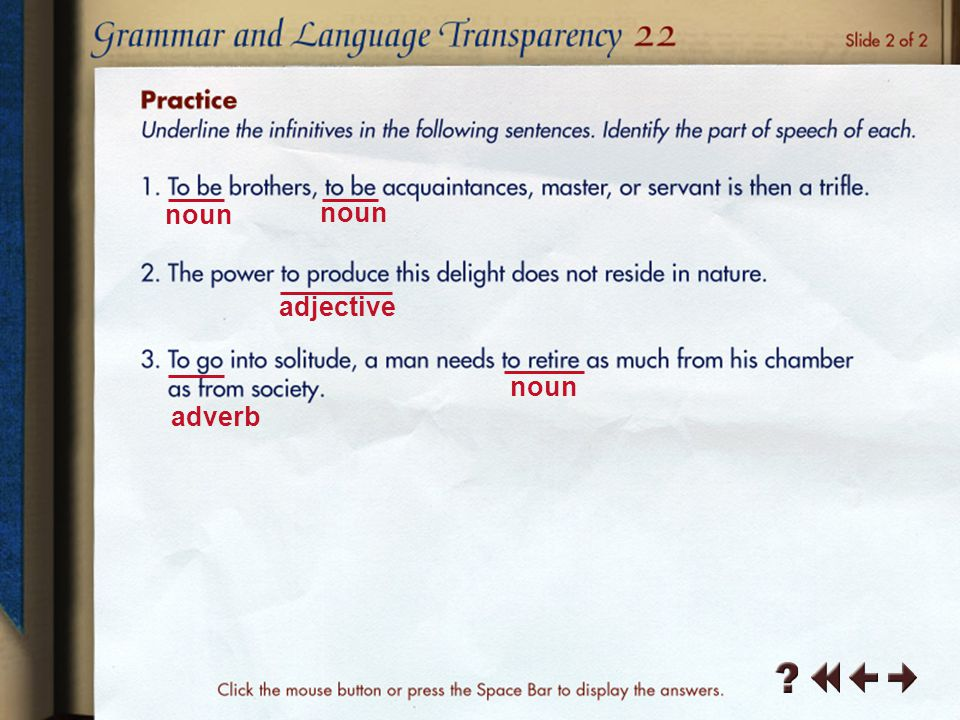 Grammar and Language Transparency 6-4