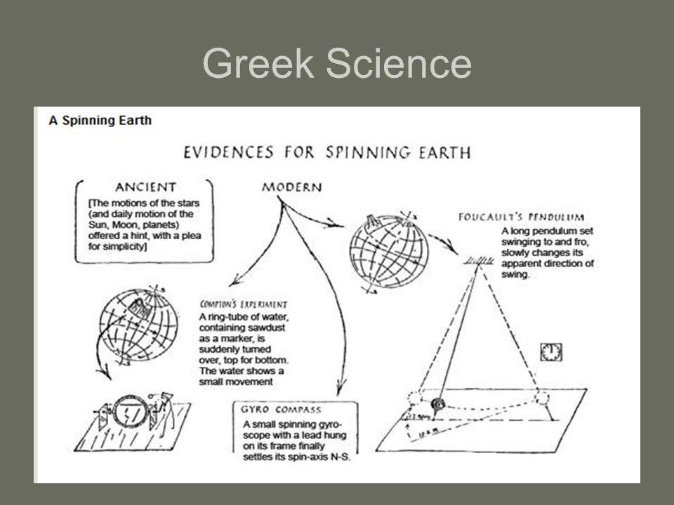 Greek Science