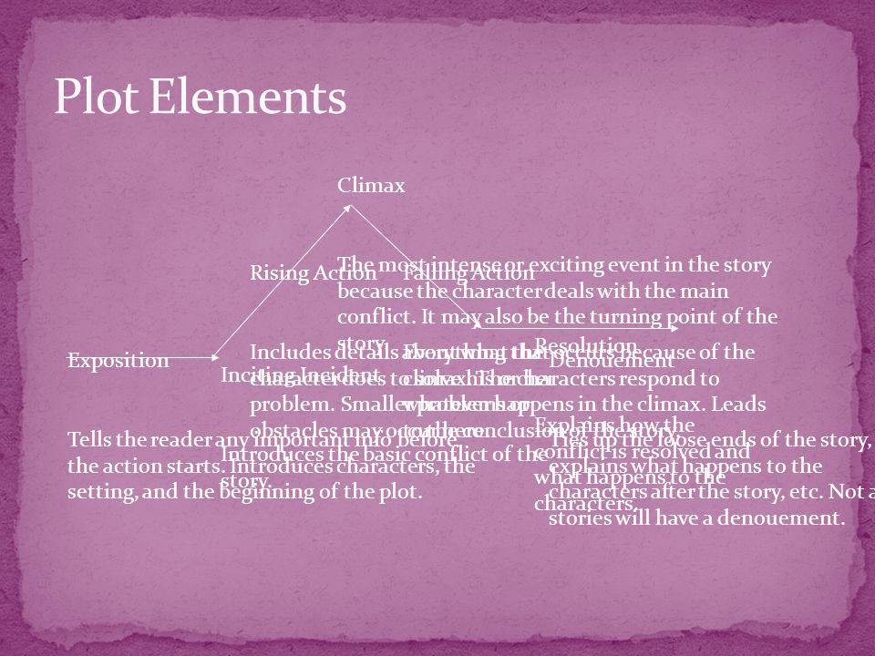 Plot Elements Climax.