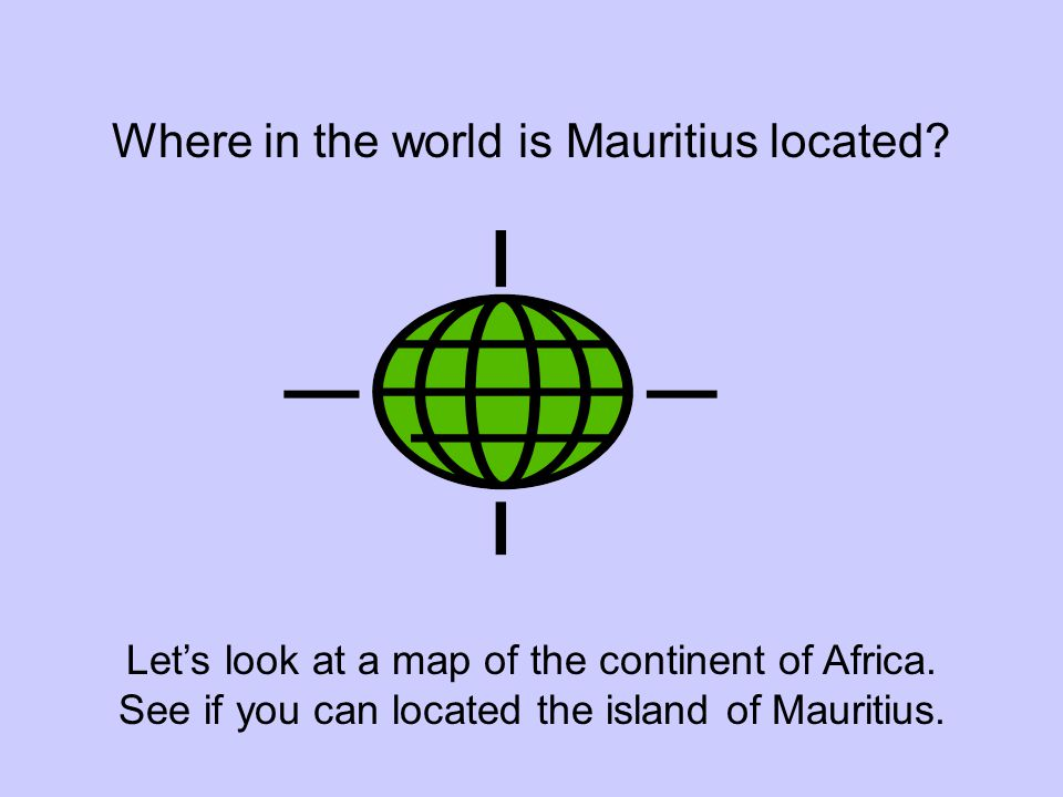 Where in the world is Mauritius located