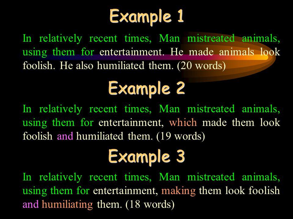 Example 1 Example 2 Example 3