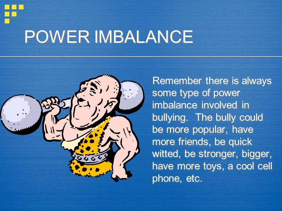 POWER IMBALANCE