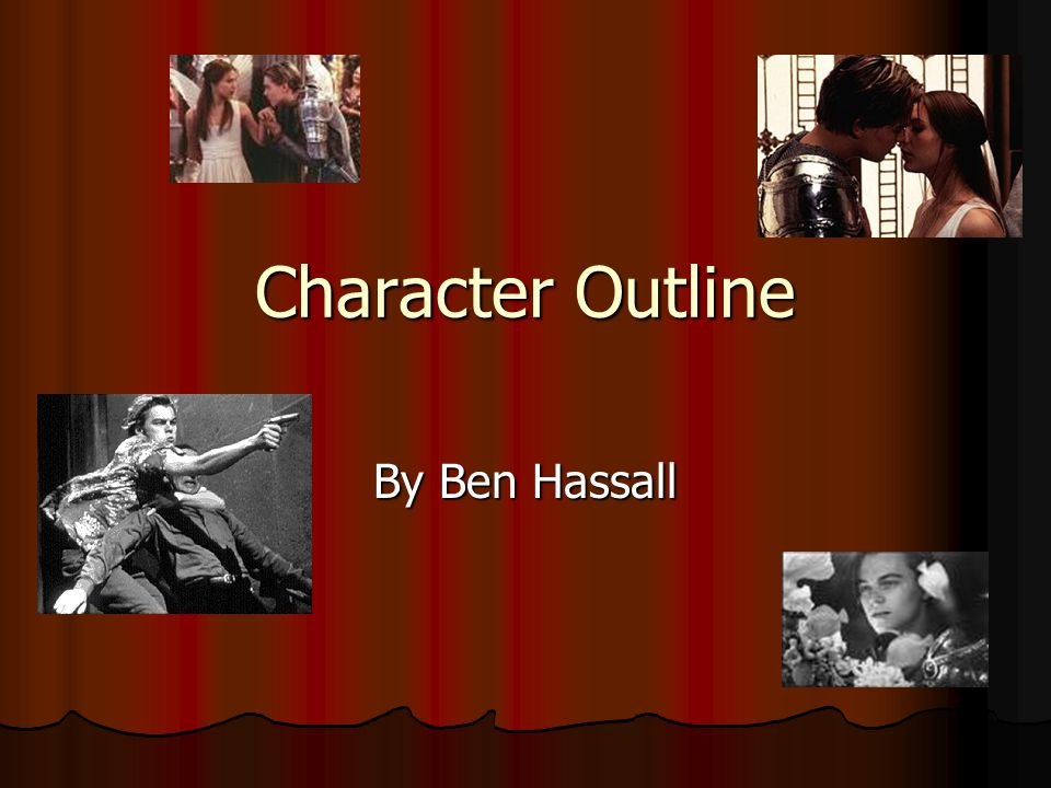 Character Outline By Ben Hassall