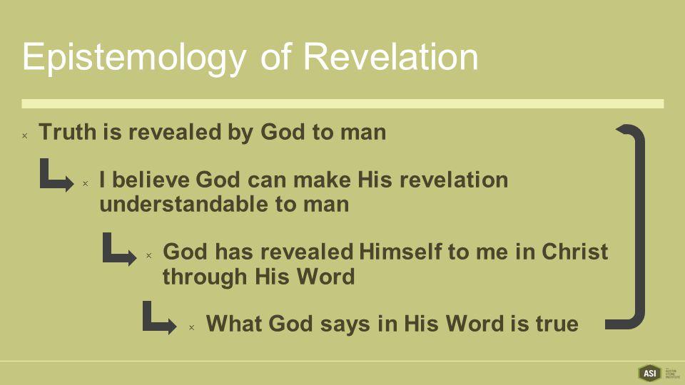 Epistemology of Revelation