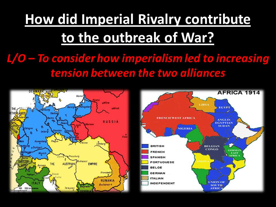 How did Imperial Rivalry contribute to the outbreak of War