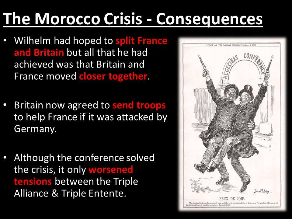 The Morocco Crisis - Consequences