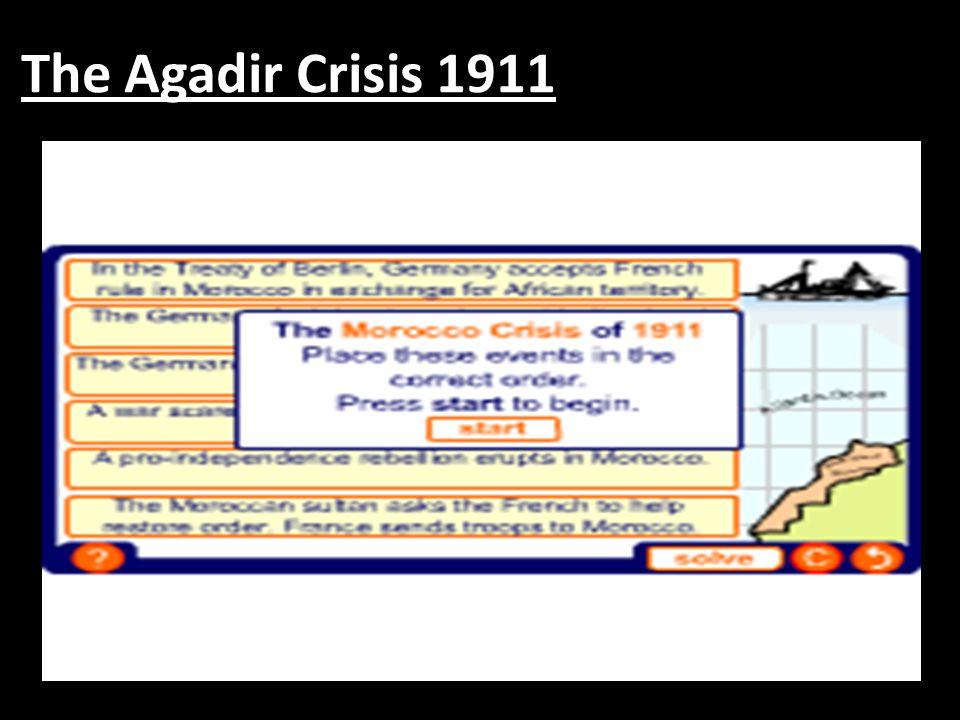 The Agadir Crisis 1911