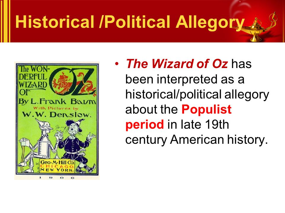 Historical /Political Allegory