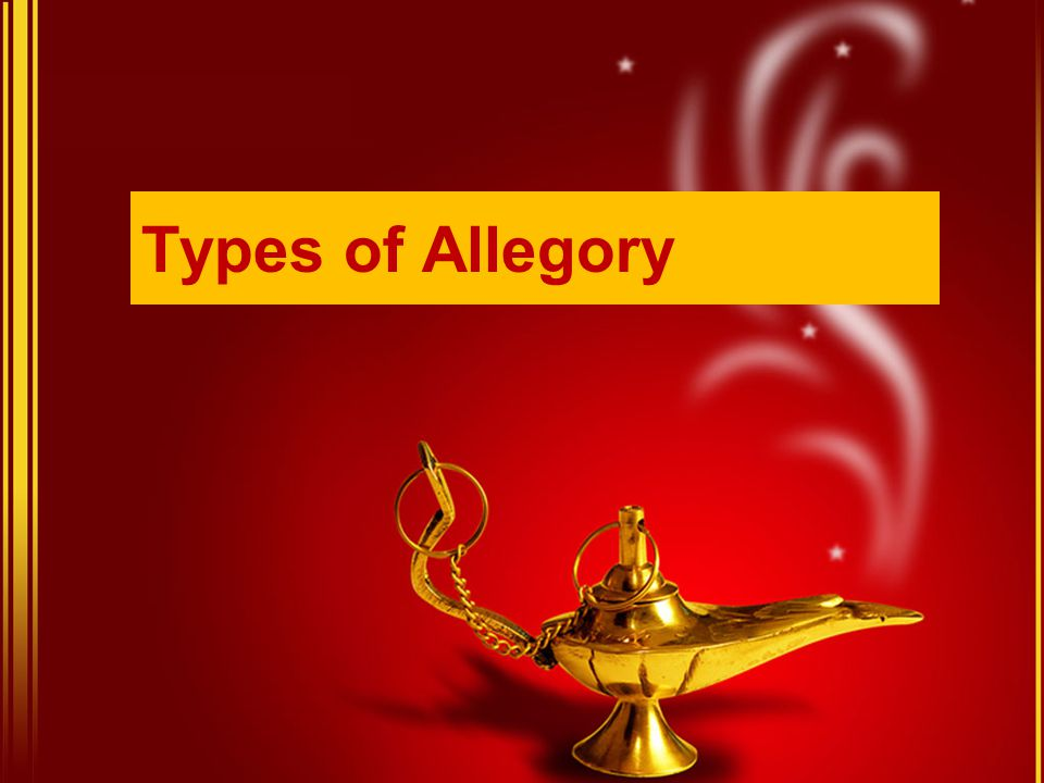 Types of Allegory