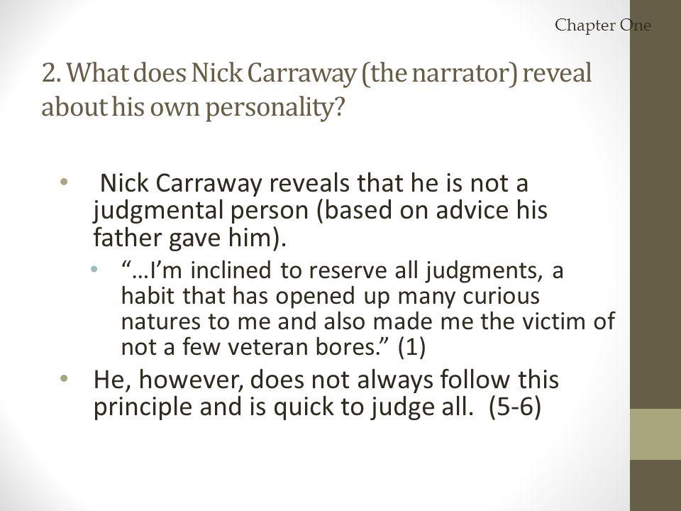 nick carraway essay