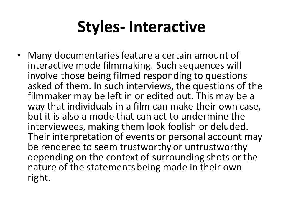 Styles- Interactive