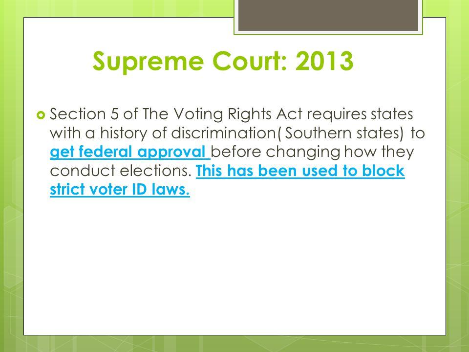 Supreme Court: 2013