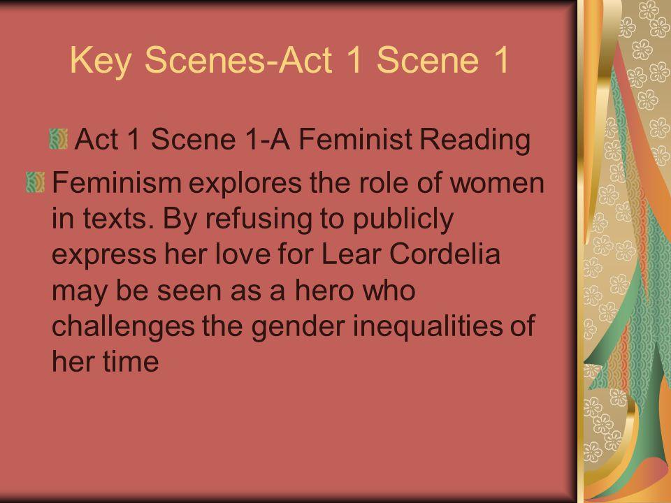 Act 1 Scene 1-A Feminist Reading