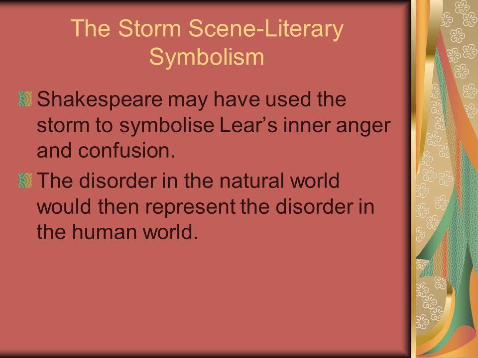The Storm Scene-Literary Symbolism