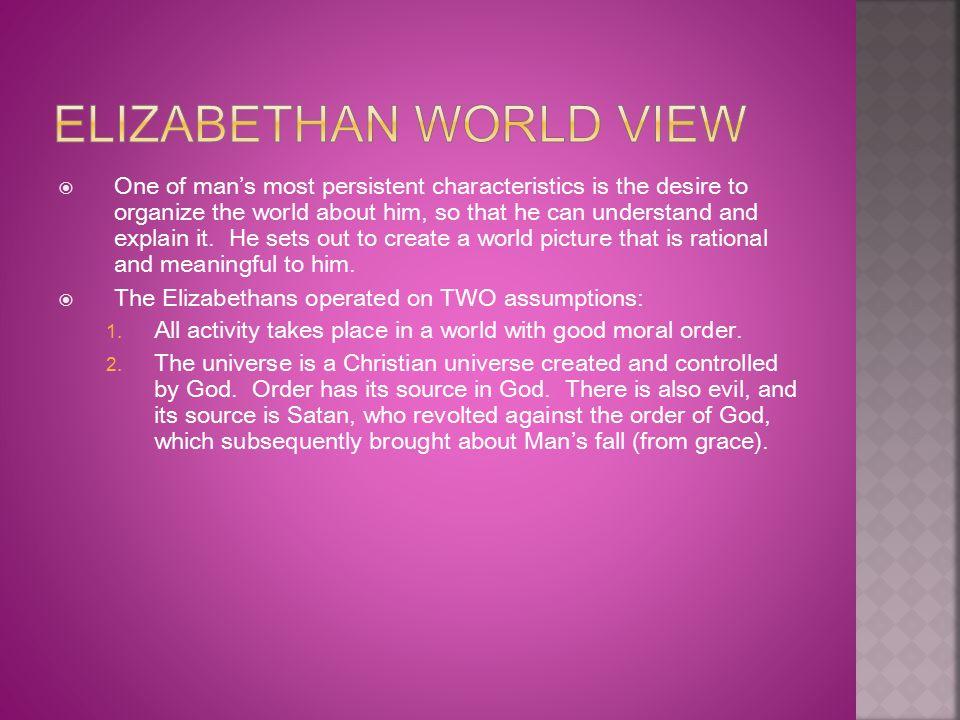 Elizabethan World View