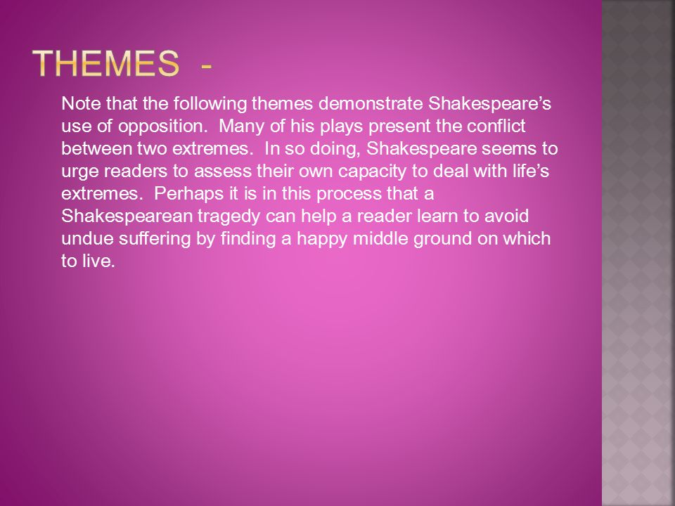 Themes -